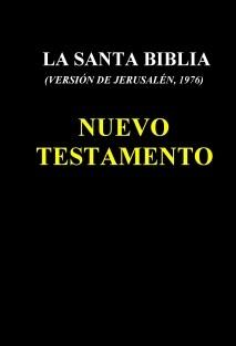 LA SANTA BIBLIA (1976) - NUEVO TESTAMENTO