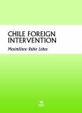 CHILE INTERVENCIÓN EXTRANJERA
