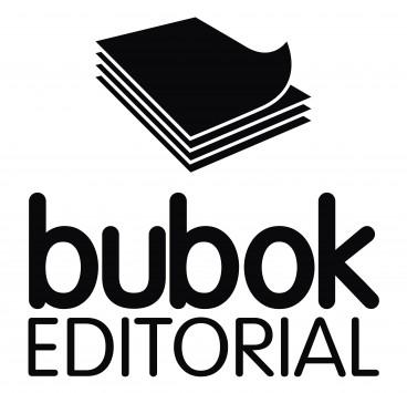 Logo editorial en blanco y negro